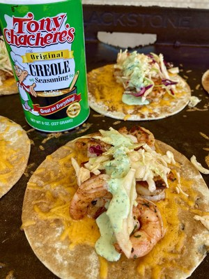 You'll Say Creolé to These Tacos