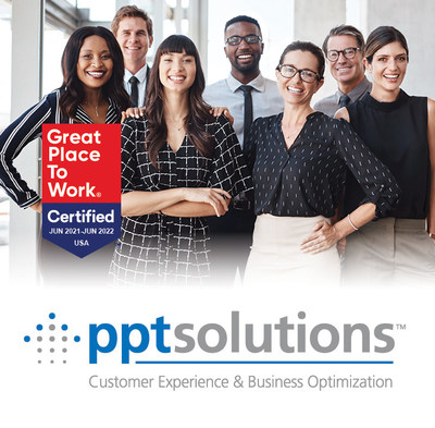 PPT Solutions Named a Great Place to Work for a Fourth Consecutive Year