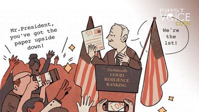 CGTN:El ranking de la COVID-19 de Bloomberg personifica 'los negocios primero, los humanos duran'