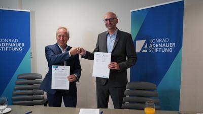 Hannover Fairs México y la Konrad-Adenauer-Stiftung firman memorándum de entendimiento para ITM y SPM