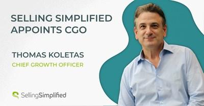 Selling Simplified nombra a Thomas Koletas como director de Crecimiento