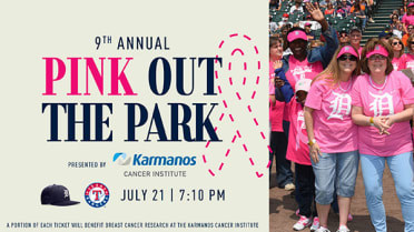 Detroit Tigers And Karmanos Cancer Institute Bring Fans and Community Together to Raise Awareness for Breast Health at Pink Out the Park, July 21, 2021