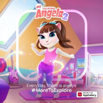 Ya está aquí My Talking Angela 2, y va directo a la AppGallery