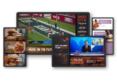 SAVI Controls and LG Bring Innovative AV Solutions to Buffalo Wild Wings