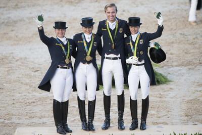 El equipo olímpico alemán de doma clásica camino de convertirse en un fabuloso 14