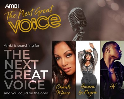 AMBI® Skincare, The Skin Tone Authority™, Partners With Celebrity Judges for 'The Next Great Voice of AMBI' Competition