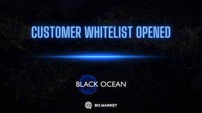 Black Ocean, la plataforma de liquidez de criptomonedas, abre su lista blanca de clientes