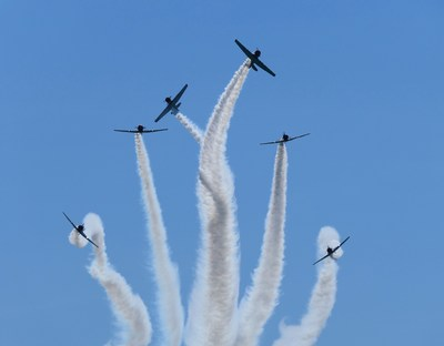 GEICO Skytypers Air Show Team Returns to Perform at EAA AirVenture Oshkosh 2021