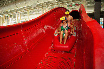 America's First Virtual Reality Waterslide Opens at Kalahari Resorts and Conventions