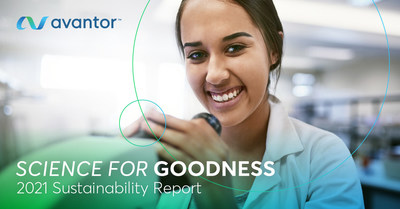 Avantor® Publishes Inaugural Sustainability Report; Drives Positive Impact through Science for Goodness Platform