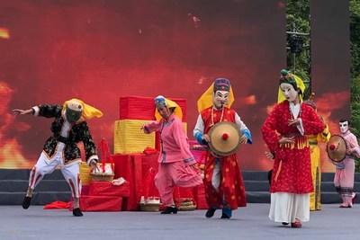 Xinhua Silk Road: El condado autónomo de Huanjiang Maonan construye una ciudad turística internacional