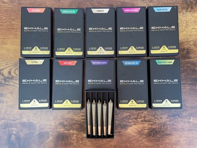 Delta-8 Pre Rolls Launched by Exhale Wellness