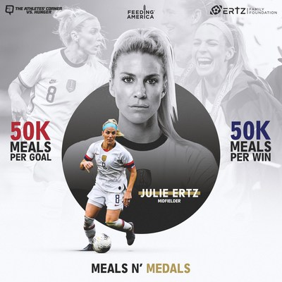 The Ertz Family Foundation and The Athletes' Corner launch 'Meals n' Medals' for Tokyo