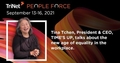 TIME'S UP CEO Tina Tchen Joins TriNet PeopleForce Roster of Distinguished Speakers