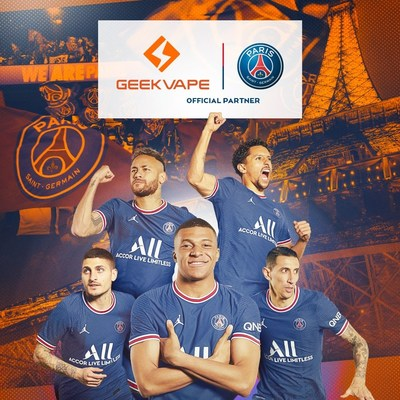 Geekvape y el Paris Saint-Germain anuncian alianza oficial