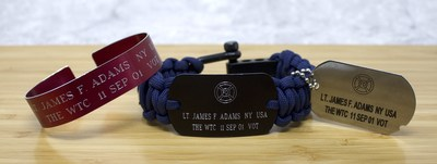 Memorial Bracelets Keep the Memory of Those Lost on 9/11 Alive