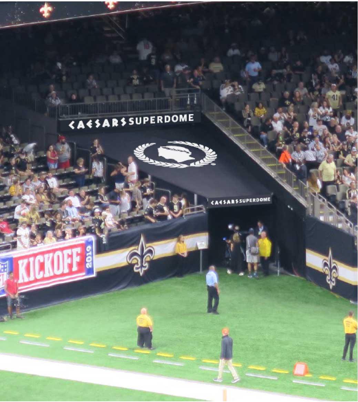 New Orleans Saints and Caesars Entertainment Announce Partnership: Stadium Rebranded as Caesars Superdome