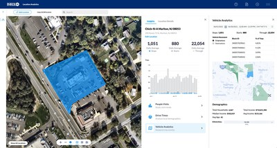 INRIX Launches Location Analytics to Help Streamline Site Selection and Understand Buyer Behavior
