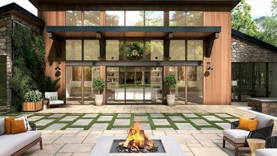Milgard launches AX550 Moving Glass Walls for indoor-outdoor living