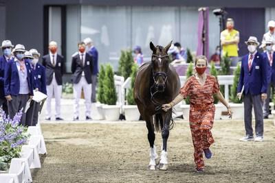 Juegos Olímpicos de Tokio 2020 - Inspección de caballos de competición