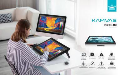 Huion anuncia tres tabletas gráficas de 23,8 pulgadas, incluida la Kamvas Pro 24(4K)