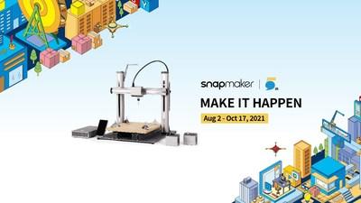 Hazlo realidad: Snapmaker celebra su quinto aniversario