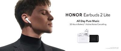 HONOR lanza HONOR Earbuds 2 Lite con una duración de la batería líder en el sector y un audio mejorado