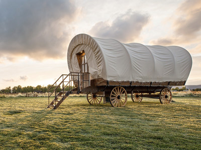 Travel Across the USA and Stay in a Modern Conestoga® Wagon in 25 States