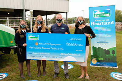 Farmland® Donates $100,000 To The National FFA Organization To Help Support The Future Of Farming And America's Food Supply
