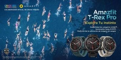 Amazfit T-Rex Pro llega con fuerza y corriente a favor a Cruce Teques 2021