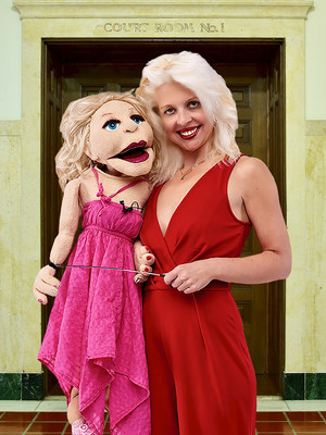 Ventriloquist April Brucker Demands Equal Pay for Puppets on Season 3 Premiere of 'Judge Jerry'