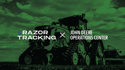Razor Tracking Connects To The John Deere Operations Center As A Recommended Remote Monitoring Platform