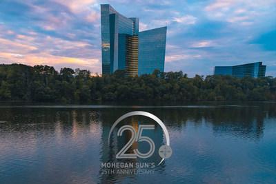Mohegan Sun Announces Exciting Lineup of Celebrations to Commemorate Milestone 25th Anniversary
