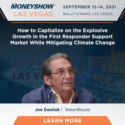 Climate Change Mitigator, WaterBlocks™, Offers Stock Giveaway at Upcoming Money Show - Revealing Social Impact Investment Opportunity with Future of Flood and Crowd Control