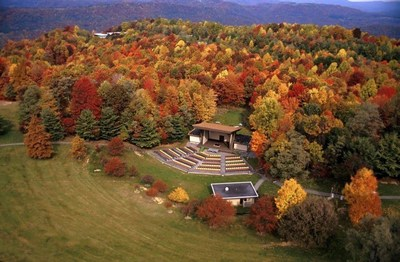Ziplining Over the Fall Colors of West Virginia
