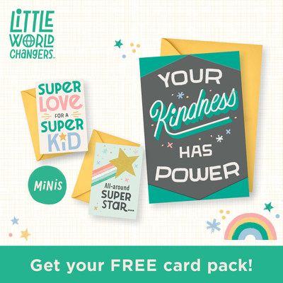Hallmark Gives Away 1 Million Cards to Launch Little World Changers Collection