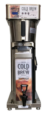 Ronnoco Beverage Solutions Launches Industry's First On-Demand, Freshly Dispensed Cold Brew Coffee at 2021 NACS Show
