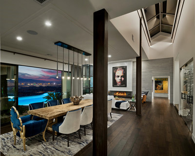 Christopher Homes Introduces SkyVu, a Limited Collection of Luxury Estates at MacDonald Highlands overlooking the Las Vegas Valley