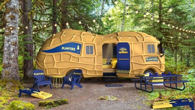 Go Nuts! The MR. PEANUT® Character Is Renting His Iconic NUTMOBILE™ Vehicle To Overnight Guests For First Time Ever
