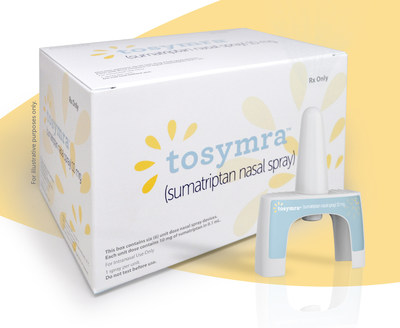 Upsher-Smith Partners With Cove To Expand Access To Its Migraine Medication Tosymra® (Sumatriptan Nasal Spray) 10 mg