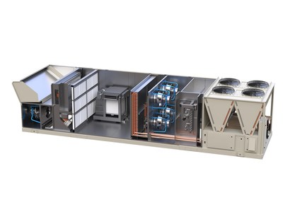 Daikin Applied Boosts IAQ with Upgraded Rebel Applied Rooftop Heating and Cooling System