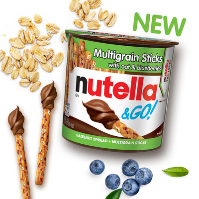 Nutella® Expands Popular Nutella & GO!® Line With New Delicious Multigrain Innovation