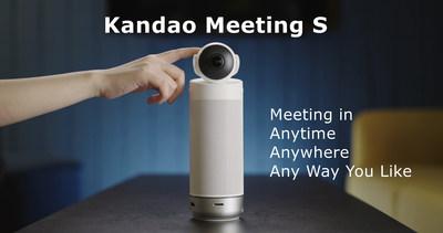 Kandao Technology lanzó Kandao Meeting S, una cámara de videoconferencia autónoma ultra ancha de 180°