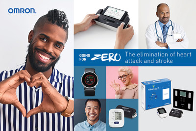 Worldwide Sales of OMRON Healthcare Blood Pressure Monitors Top 300 Million Units as Company Advances Its Going for Zero Mission