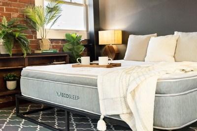 Brooklyn Bedding Launches EcoSleep Luxe Hybrid: The Sustainable, Adjustable Sleep Solution