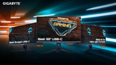 La línea completa de monitores para videojuegos GIGABYTE recibió grandes elogios por su rendimiento estelar