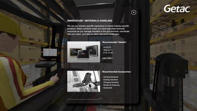 Getac se centra en la cadena logística y lanza una feria virtual para mostrar las soluciones robustas disponibles para la industria de transporte y logística.