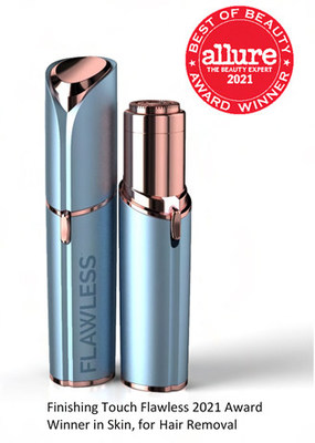 Finishing Touch Flawless Wins Coveted 2021 Best of Beauty Award