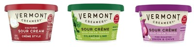 Vermont Creamery Debuts High Fat Cultured Sour Cream in Northeast Supermarkets Sept. 2021 Waking Up Sleepy Sour Cream Category