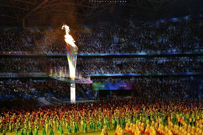 Se celebran los 14.° Juegos Nacionales en Xi'an, la ciudad capital de mil años de antigüedad
